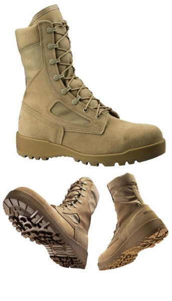 340 DES ST-Belleville Hot Weather Safety Toe Flight Boot Made in USA