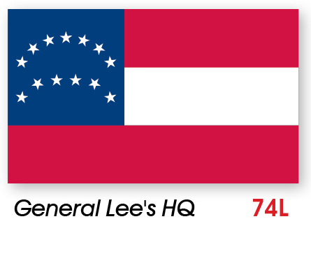 General Lee's HQ Civil War Flag Made in USA