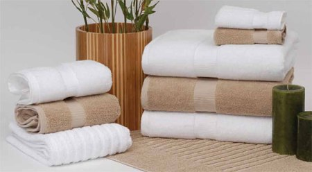 Green Threads Organic Cotton Towel Collection Made in America