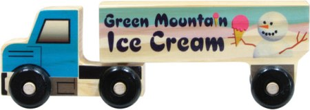 Maple Landmark Semi Trucks Made in USA - Ice Cream