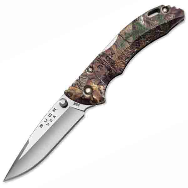 Buck Bantam, Realtree, Xtra Camo Handle, Plain