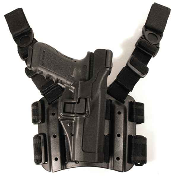 Blackhawk TAC SERPA Holster Level 3, RH, Black, Sig 220/226/228/229
