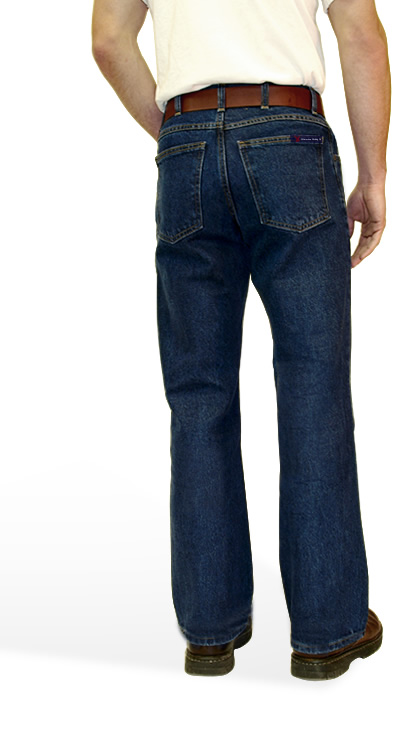American Made Jeans Boot Cut  with Gusset