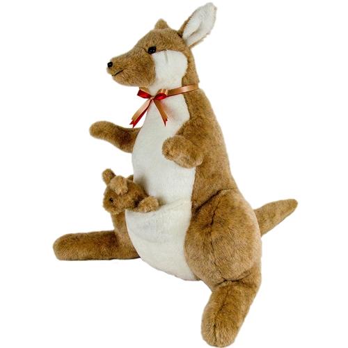 Usab2c Kangaroo Amp Joey Stuffed Animal Toy Made In Usa
