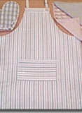 Organic Cotton Apron  American Made