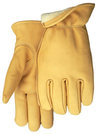 Genuine Buckskin Gloves with Thinsulate Insulation - American Made