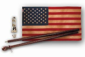 Heritage 50-Star Flag Kit  Made in USA