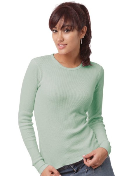Organic Long Sleeve Thermal Made in USA