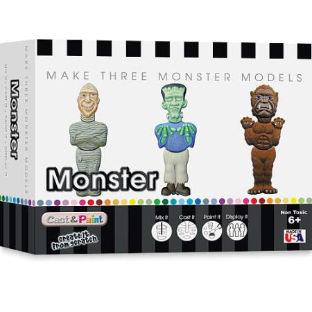 Cast & Paint Kit American Made - Monsters