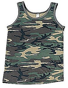 Camoflauge Tank Top Made in America