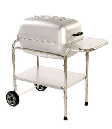 The Portable Kitchen & Cast Aluminum Grill and Smoker Made in America
