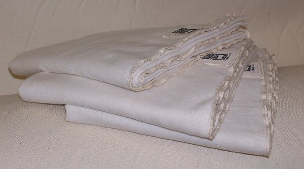 Organic Receiving Baby Blanket Made in USA