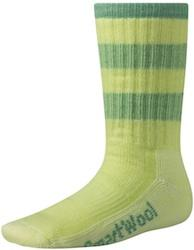 Smartwool Kids Striped Hiking Sock Made in USA - 2 pairs