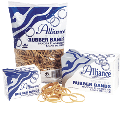 Sterling Rubber Bands Made in USA - 1 Case of 25 Bags
