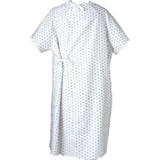Washable Exam Gowns American Made - Case of 12