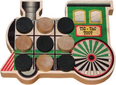 Maple Landmark Tic-Tac-Toe - Toot Made in USA
