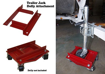 The Trailer Jack Dolly Attachment for the Auto Dolly Made in America