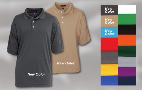 Moisture Management Polo Shirt - Performer Made in USA