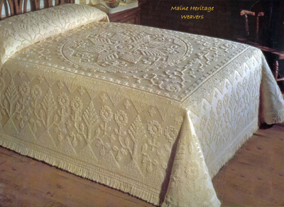 New England Tradition Bedspread Made in USA