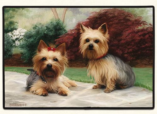Yorkie Porch Doormat Made in America