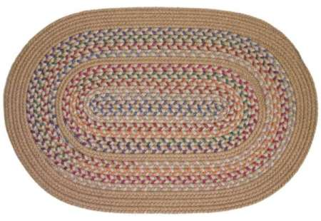 Tapestry Braided Area Rug Made in America by Rhody Rugs