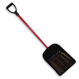Mulch/Snow Bully - Large capacity, lightweight, non-stick scoop shovel - American Made by Bully Tools