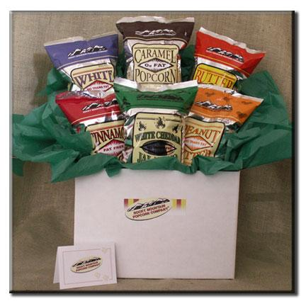6 count-Popcorn Variety Gift Box - American Made