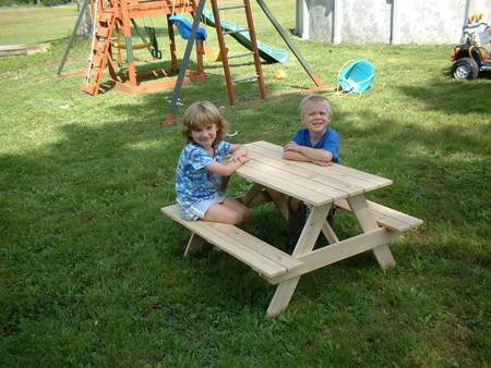Children's Picnic Table - American Made