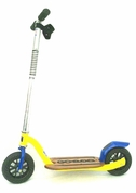 Growped Push Scooter - American Made in Yellow and Blue