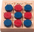 Tic-Tac-Toe Game Made in America - Small
