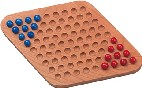 Maple Landmark Chinese Checkers - Two Man