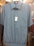 Solid Color Banded Bottom Shirt Made in USA