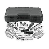 CRAFTSMAN American Made 77pc Mechanics Tool Socket Set -  1/4, 3/8 In