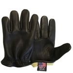 "Deerskin Motorcycle Gloves with full DoPont Kevlar Lining Made in America <FONT FACE=""Times New Roman"" SIZE=""+1"" COLOR=""#FF0000""> On Sale Now! </font>-"