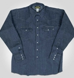 Heavyweight Denim Work Shirt American Made