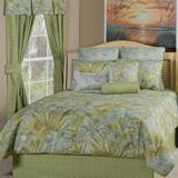 Victor Mills Bahamian Surf Comforter Set Made in USA