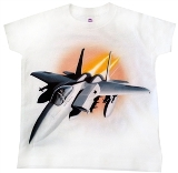 Kids Fighter Jet T-Shirt Made in USA