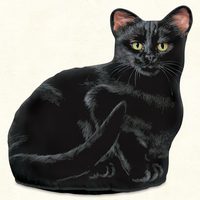 BLACK CAT DOORSTOP MADE IN USA
