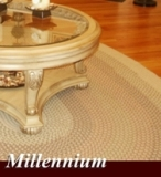 Millennium Braided Area Rug Made in America by Rhody Rugs