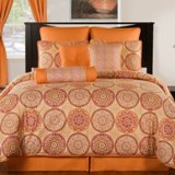 Moorish Modern Bedspread Made in USA