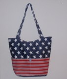 Patriotic Tote Bag Made in USA