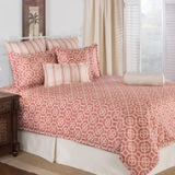 Victor Mills TileWorks Melon Comforter Set Made in America