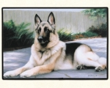 German Sheperd Porch Doormat American Made