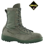 690 - Belleville Waterproof Sage Green Flight Boot American Made Boot USAF