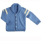 Oliver & Adelaide Collegiate Cardigan Made in America