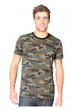 Made in USA Unisex Camo Tee
