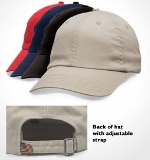 Unstructured Washed Twill Cap Made in USA