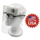 Protective Face Shield Made in USA