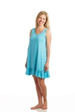 "Ladies Sleeveless Scooped Neck American Made by Goodnighties<FONT FACE=""Times New Roman"" SIZE=""+1"" COLOR=""#FF0000""> On Sale Now! </font>-"