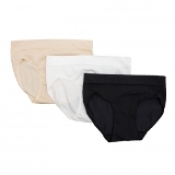 Ladies Hipster Panty American Made3 Pack